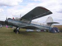 D-FWJA @ EGMA - Antonov AN-2 at Fowlmere - by Simon Palmer