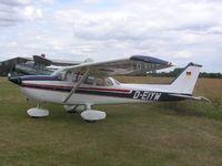 D-EIYW @ EGMA - Cessna 172 at Fowlmere - by Simon Palmer