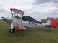 D-MWOD @ EGMA - Unidentified ultralight biplane - by Simon Palmer