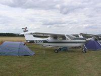 D-ECIO - Cessna at Fowlmere - by Simon Palmer