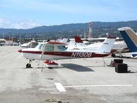 N11308 @ SCA - 1973 Cessna 150L @ San Carlos Municipal Airport, CA - by Steve Nation