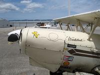 N88EH @ WVI - Hooper 1979 EAA Biplane named Woodstock @ Watsonville Municipal Airport, CA - by Steve Nation