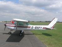 G-BHPY - Cessna 152 at Turweston - by Simon Palmer
