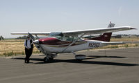 N52563 @ PRB - Concord Flying Club Cooperized Cessna 182 at Paso Robles