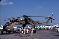 67-18420 @ DAY - when active with Army as CH-54A 67-18420 - by Glenn E. Chatfield