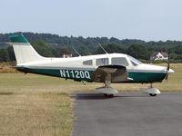 N1120Q @ EGBO - Piper PA-28-161 Warrior II - by Robert Beaver