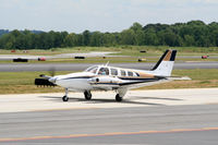 N5BP @ PDK - Taxing past Mercury Air Service - by Michael Martin