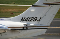 N412GJ @ PDK - Tail Numbers - by Michael Martin