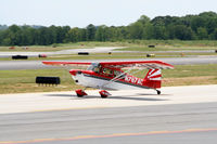 N787AC @ PDK - Taxing to Epps Air Service - by Michael Martin