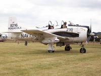 N285DB @ KOSH - North American T-28B - by Mark Pasqualino