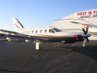 N700LF @ KBLM - sitting on the ramp ready to depart to Ocean Reef Club in Florida (07FA) private airport - by William Hughes