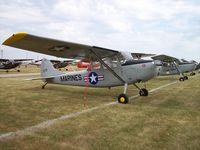 N12755 @ KOSH - Cessna L-19 - by Mark Pasqualino