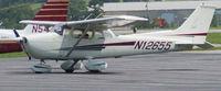 N12655 @ DAN - 1973 Cessna 172M in Danville Va. - by Richard T Davis