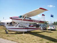 N185GG @ KOSH - Cessna 185 - by Mark Pasqualino