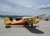 N85440 @ WVI - 1946 Aeronca 7AC (as NC85440) @ Watsonville Municipal Airport, CA