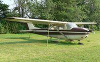 N8351U @ N05 - Faded 1964 Skyhawk has that sinking feeling.... - by Daniel L. Berek