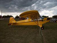 N70919 @ KOSH - Piper J-3C-65 - by Mark Pasqualino