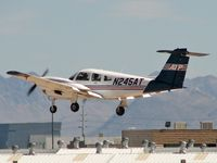 N245AT @ VGT - Airline Transport Professionals Corp Of Usa / 2001 Piper PA-44-180