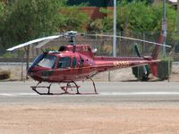 N53SH @ VGT - Sundance Helicopters / Aerospatiale AS350B1 ECUREUIL / Too hot to fly!