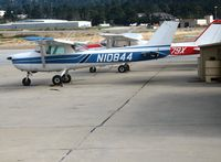 N10844 @ MRY - Monterey Flyers 1973 Cessna 150L @ Monterey, CA - by Steve Nation