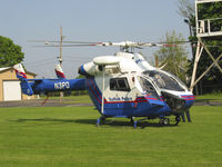 N3PD @ 21N - Suffolk County's NoTaR - MD-900 Enforcer - Off Airport at Cutchogue FD. So Cool!