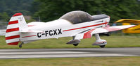 C-FCXX @ CAH3 - Now arriving.......Mudry Cap 10 ........Courtenay Airpark, Vancouver Island - by Ken Wiberg