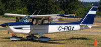C-FIQV @ CAH3 - Sitting in visitor parking for a short stay at Courtenay Airpark, on Vancouver Island. - by Ken Wiberg