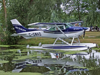 C-GWAQ @ 96WI - C-182 on floats at the seaplane base - by Jim Uber