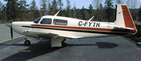 C-FYTR @ CAH3 - Day parking in front of the flight office of Courtenay Airpark, Vancouver Island. - by Ken Wiberg