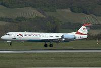 OE-LVE @ VIE - Austrian Arrows Fokker 100 - by Yakfreak - VAP