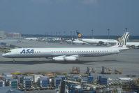 5Y-ZEB @ FRA - African Safari DC8-60