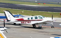 N8278T @ PDK - Tied down @ Epps with other aircraft - by Michael Martin