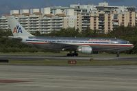 N7055A @ SJU - American Airlines Airbus A300-600 ready for take off - by Yakfreak - VAP