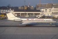 CCCP-65791 @ FRA - Air Moldova Tupolev 134 ready for taxy after push back - by Yakfreak - VAP