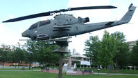 66-15299 - 15299 Cobra Attack Copter on the grounds at the Veterans Memorial in Bristol Va. - by Richard T Davis