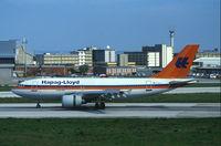 D-AHLZ @ LIS - Hapag Lloyd Airbus 310 at LIS