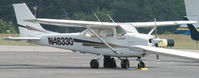 N46330 @ DAN - 1968 Cessna 172K in Danville Va. - by Richard T Davis