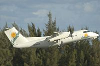 N926HA @ SJU - Dash8-100 Carribean Sun - by Yakfreak - VAP