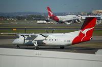 VH-SCE @ SYD - Bombardier Dash 8 of Qantas Link in Sydney - by Micha Lueck