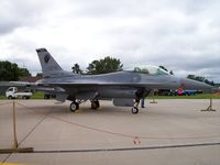 89-2076 @ KVOK - F-16  AF 89076 - by Mark Pasqualino