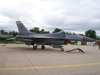 87-0345 @ KVOK - F-16  AF 87-345 - by Mark Pasqualino
