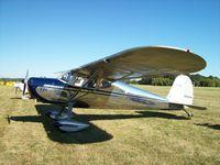 N2438N @ C77 - Cessna 140 - by Mark Pasqualino
