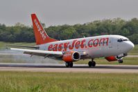 G-EZYM @ BSL - daily flight from London LTN - by eap_spotter