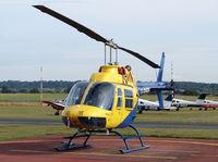 G-OMDR @ EGBO - Bell 206B Jet Ranger II - by Robert Beaver