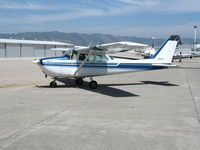 N7420G @ WVI -  RAM 172 conversion Cessna 172K taxying @ Watsonville Municipal Airport, CA - by Steve Nation