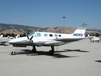 N821KB @ E16 - 1966 Cessna 411 @ South County Airport  (San Martin), CA