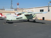 N4650C @ RHV - 1953 Cessna 170B being rebuilt @ Reid-Hillview Airport (San Jose), CA - by Steve Nation