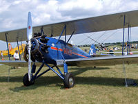 N662Y @ OSH - Another pretty Waco ASO, in the classics area - by Jim Uber