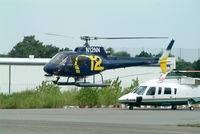 N12NN @ FRG - News Copter 12, heading out to watch another fender bender... - by Stephen Amiaga
