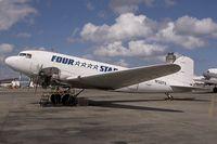 N132FS @ SJU - Four Star DC3 - by Yakfreak - VAP